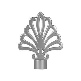 """Наконечник """"Веер"""" d19/16мм серебро-матовое в Калининграде"""