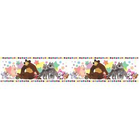 Бордюр бумажный Машины друзья Б-002 14,00х0,1м Симфония в Калининграде