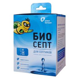 Биоактиватор для септиков и выгребных ям Биосепт (24 дозы) 600 г, Живые бактерии в Калининграде