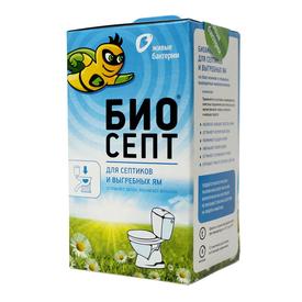Биоактиватор для септиков и выгребных ям Биосепт (12 доз) 300 г, Живые бактерии в Калининграде