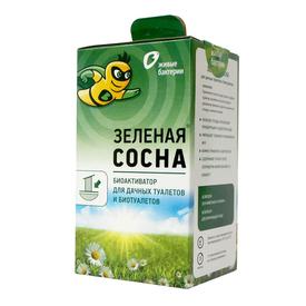Биоактиватор для дачных туалетов и выгребных ям Зеленая сосна (12 доз) 300 г, Живые бактерии в Калининграде