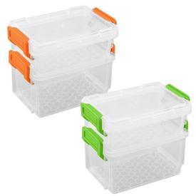 Набор контейнеров для хранения 170+300мл (2 цвета) YM80-401 в Калининграде