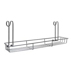 Полка для рейлинга 35х7,5х12см для специй кухонная навесная AN52-135 в Калининграде