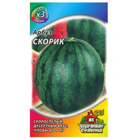 Арбуз Скорик 1,0 г ХИТ х3 Удачные Семена в Калининграде