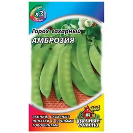 Горох Амброзия, сахарный 6 г ХИТ х3 Удачные Семена в Калининграде