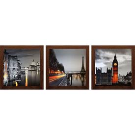 Картина из трех сюжетов в раме, 18*54см , арт TG198 кор в Калининграде