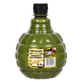 Жидкость для розжига 0,5л Парафиновая BOYSCOUT (24) в Калининграде