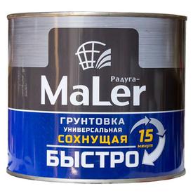 Грунтовка универсальная быстросохнущая Радуга MALER черная 1,9 кг в Калининграде