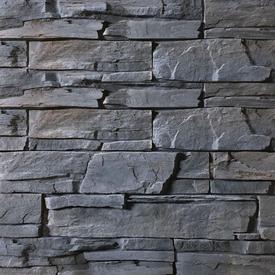 Плитка фасадная цементная СКАЛА Серый, мультиформат, уп 0,45м2 в Калининграде