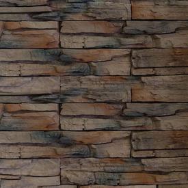 Плитка фасадная цементная СКАЛА Темно-коричневый, мультиформат, уп 0,45м2 в Калининграде