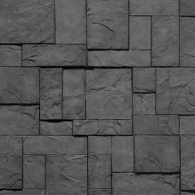 Плитка фасадная цементная КОРСИКА Темно-серый, 30х40х6 см, уп 0,72м2 в Калининграде