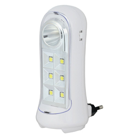 Светильник аварийный светодиодный ДБА 3924 3ч 1,5Вт переносной с выдвижной вилкой IP20 ИЭК в Калининграде