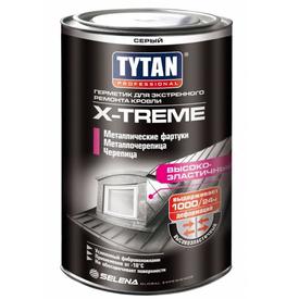 Герметик кровельный  для экстренного ремонта TYTAN Professional  X-treme прозрачный 1кг (6) в Калининграде