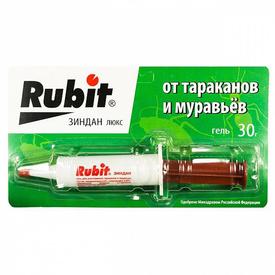 Средство от тараканов и муравьев шприц гель Зидан Люкс 30г. (1/40) RUBIT в Калининграде
