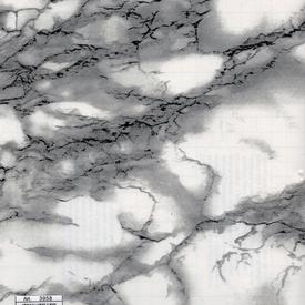 Пленка самоклеящаяся Deluxe 45см х 8м мрамор бело-черный в Калининграде