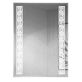 Зеркало 60х80см с светодиодной подсветкой орнамент 45400 Санакс в Калининграде
