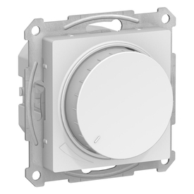 Механизм диммер для LED ламп 315Вт ATLASDESIGN белый SchE ANT000134 в Калининграде