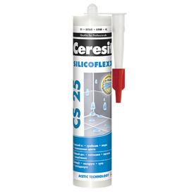 Затирка силиконовая CERESIT CS 25 280мл серебристо-серый 04 в Калининграде