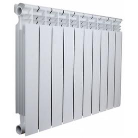 Радиатор алюминиевый OPTIMA 500/80мм 10 секций (1300 Вт), Valfex в Калининграде