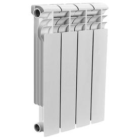 Радиатор алюминиевый OPTIMA 500/80мм 4 секции (520 Вт), Valfex в Калининграде