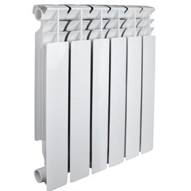 Радиатор алюминиевый OPTIMA 500/80мм 6 секций (780 Вт), Valfex в Калининграде