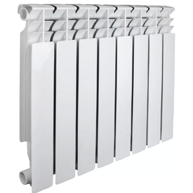 Радиатор алюминиевый OPTIMA 500/80мм 8 секций (1040 Вт), Valfex в Калининграде