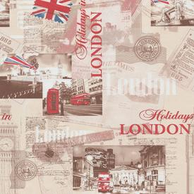 Обои бумажные Лондон 221202-1 10,05х0,53м МОФ в Калининграде