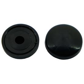 Колпачок пластиковый малый черный фасовка 10шт в Калининграде