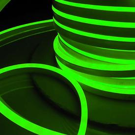 Лента Гибкий Неон 8х16мм GLS-2835-120-9.6-220-NL-IP67-G зеленый (50м/рул) GENERAL в Калининграде