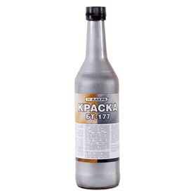 Эмаль БТ-177 серебро 0,5 л Лакра в Калининграде