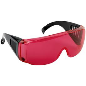 Очки защитные с дужками красные для работы с лазерным инструментом Дельта в Калининграде