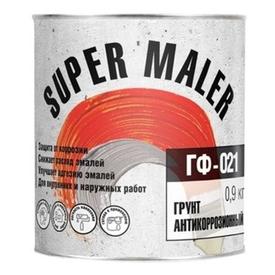 Грунт ГФ-021 красно-коричневый 0,9 кг Super Maler в Калининграде