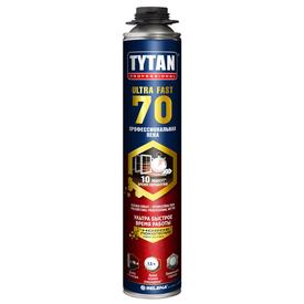 Пена пистолетная с быстрым временем отверждения TYTAN Ultra FAST 70 870ml в Калининграде