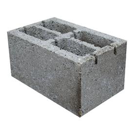 Блок стеновой 4-х пустотный керамзитобетонный 20х20х40 см Росдым в Калининграде
