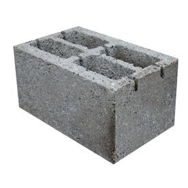 Блок стеновой 4-х пустотный керамзитобетонный 20х25х40 см Росдым в Калининграде