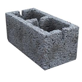 Блок стеновой 2-х пустотный керамзитобетонный 20х20х40 см Росдым в Калининграде