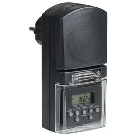 Таймер-розетка электронный РТЭ-3 1мин 7дн 140on/off 16А IP44 черный IEK в Калининграде