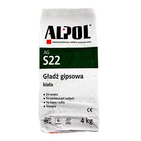 Шпаклевка гипсовая белая финишная ALPOL AGS22 4кг в Калининграде