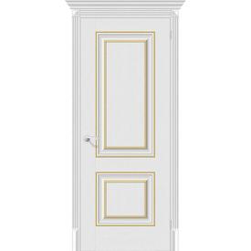 Полотно дверное глухое Классико-32G-27 90х200 см, эко шпон, Virgin в Калининграде