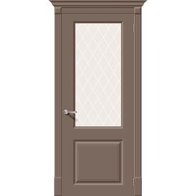 Полотно дверное остекленное Скинни-13 60х200 см, эмаль, мосса в Калининграде
