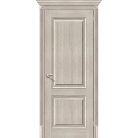 Полотно дверное глухое Классико-32 70х200 см, эко шпон, Cappuccino в Калининграде