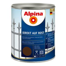 Эмаль по ржавчине RAL 8017 Direkt auf Rost шоколад 0,75 л Alpina в Калининграде