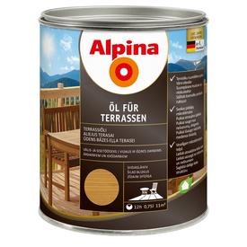 Масло терраcное Oel Fur Terrasen среднее 0,75 л Alpina в Калининграде