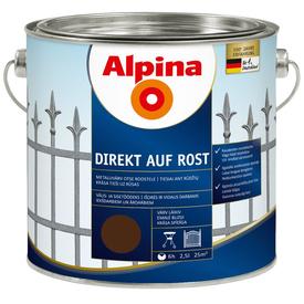 Эмаль по ржавчине RAL 8017 Direkt auf Rost шоколад 2,5 л Alpina в Калининграде