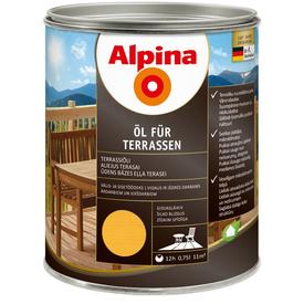 Масло терраcное Oel Fur Terrasen светлое 0,75 л Alpina в Калининграде