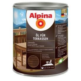 Масло терраcное Oel Fur Terrasen темное 0,75 л Alpina в Калининграде