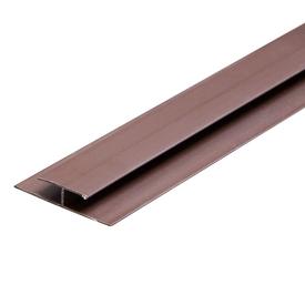 Планка ПВХ В3 связная 2,7м коричневая в Калининграде