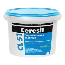 Гидроизоляция полимерная под керамическую плитку CERESIT CL51 5кг в Калининграде