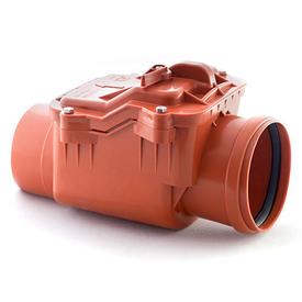 Клапан обратный канализационный ПВХ 110мм наружный в Калининграде