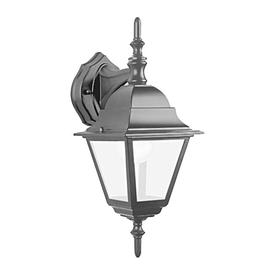Светильник садово-парковый 60W E27 230V БРА вниз черный 4102 FERON в Калининграде